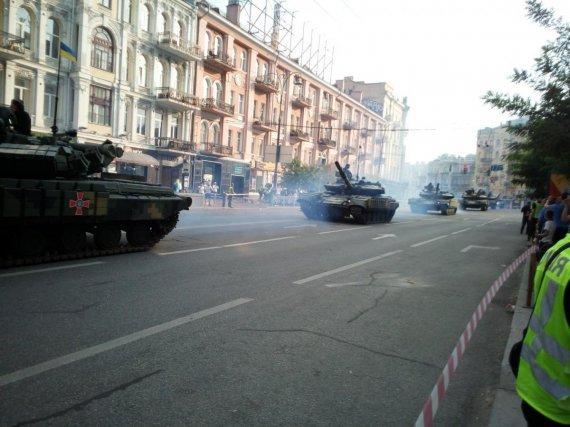 На улицах Киева показали модернизированную