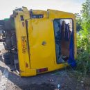 Масштабная авария возле Днепра: кадры с места ДТП (видео)
