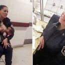 Полицейская накормила грудью чужого ребенка во время дежурства в больнице (видео)