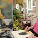 Слепая 95-летняя британка рисует удивительные картины (фото)