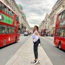 Ани Лорак прогулялась по Лондону в стильном наряде