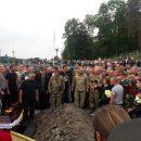 Во время похорон воина АТО во Львове началась массовая драка (ВИДЕО)