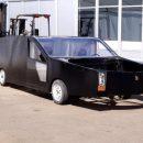 «Еще бы колеса квадратные показали»: сеть насмешил картонный российский «автовертолет»