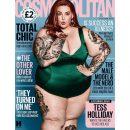 155-килограммовая модель plus-size украсила обложку Cosmopolitan