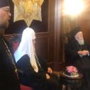 Вселенський патріарх Варфоломій потролив патріарха Московського Кирила