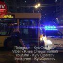 Мінус ще один «Пріус»: У Києві тролейбус протаранив патрульне авто