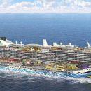 Він просто гігантський: як виглядає щойно збудований найбільший у світі круїзний лайнер