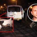 В Киеве пьяный таксист с пассажиром врезался в маршрутку (видео)