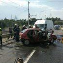 В Днепре два человека погибли в лобовом столкновении авто из-за ямы на мосту