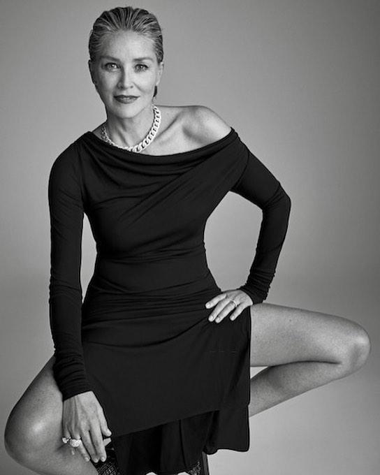 60-річна Шерон Стоун звабливо позувала для обкладинки журналу: фото