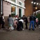 В центре Чернигова свадьба закончилась дракой