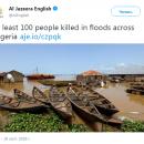 В Африке более сотни людей погибли из-за масштабного наводнения (видео)