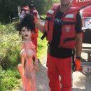 Пожарники случайно спасли куклу для взрослых