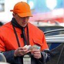 В Сети показали чудачества агрессивного парковщика в Киеве (видео)