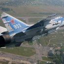 Кадры с места крушения российского истребителя МиГ-31 (видео)