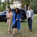 Меган Маркл восхитила элегантным нарядом