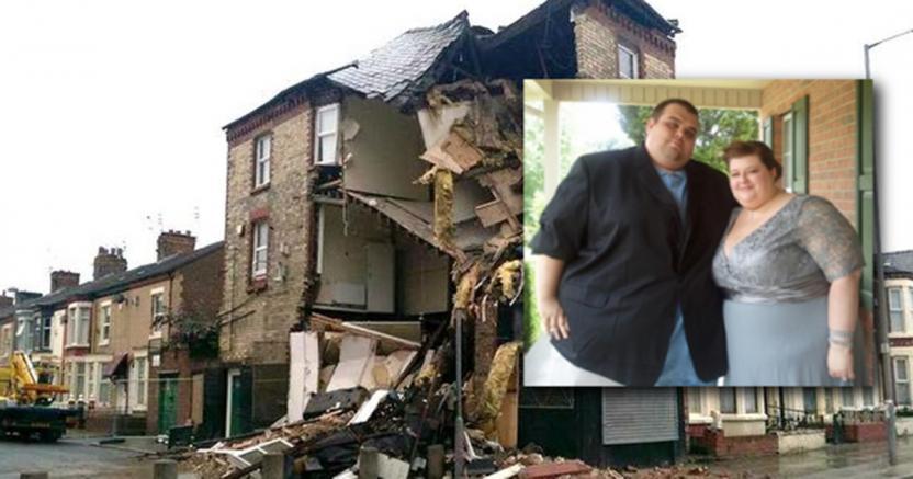 Не выдержал: Из-за бурного секса любовников с ожирением разрушился 3-этажный дом