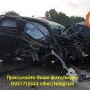 В Киеве водитель Toyota пристегнул ремень за спиной и попал в тяжелое ДТП (видео)