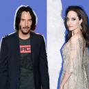 У Джоли роман с Киану Ривзом? Выяснилась правда