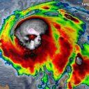 На спутниковой карте урагана в США разглядели череп