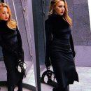 Тotal black: Тина Кароль восхитила стильным образом