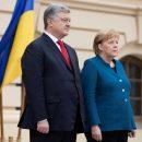 Для чего Меркель приезжала в Киев