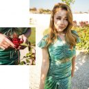 «Богиня»: украинская певица покрасовалась в изумрудном обтягивающем платье