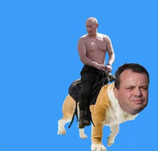 На улицах Лондона заметили полуголого Путина: отмечает «славу» ГРУ