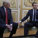 Странные прикосновения: Встреча Трампа и Макрона удивила сеть