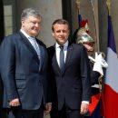 Порошенко в Париже: почему Трамп не пожал руку украинскому президенту