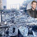 Майли Сайрус показала свой сгоревший особняк (фото)