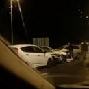 Масштабная авария на Крымском мосту: кадры с места ДТП