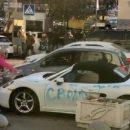 Стало известно, зачем девушка разгромила топором элитный спорткар в центре Киева