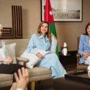 Королева Йорданії одягнула костюм українського бренду