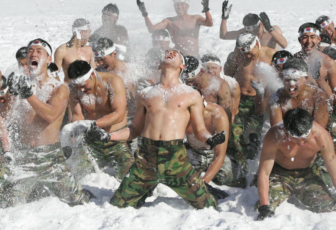 Самые суровые армейские тренировки