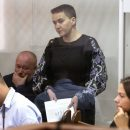 Суд Савченко перенесли: Надежде было плохо (видео)
