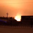 Мощный взрыв газопровода в Подмосковье: кадры ЧП