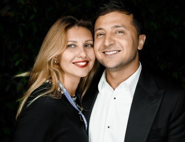 Дружина Володимира Зеленського відвідала прем'єру чоловіка