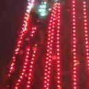 Кадры «эпического» падения пьяного с главной елки Борисполя