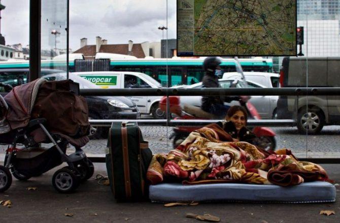 Париж, каким вы его еще не видели — «нищета и бездомные»