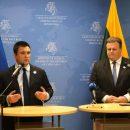 Глави МЗС України та Литви підкреслили необхідність посилення санкційного тиску на РФ