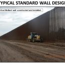 Трамп похвастался фотографией стены на границе с Мексикой