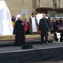 В Черкасской области на встречу с Порошенко свозили людей и запускали их по спискам