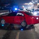 Массовое ДТП в Киеве: на мосту столкнулись четыре автомобиля
