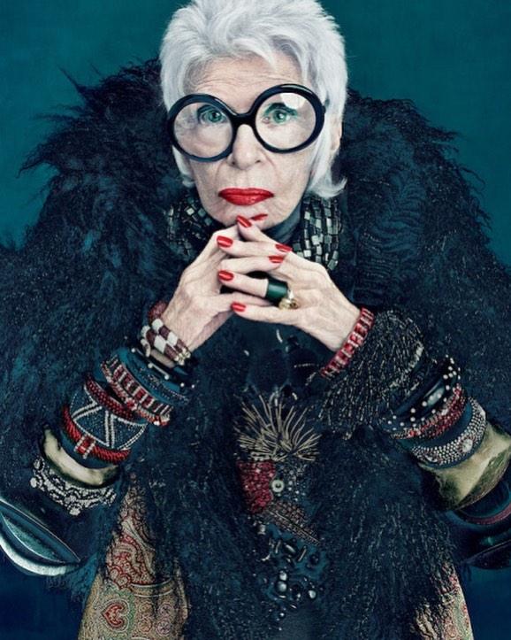 97-летняя красотка подписала контракт с одним из ведущих модельных агентств мира