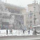 Киев снова накроет снегопад: киевлян просят не выезжать на машинах