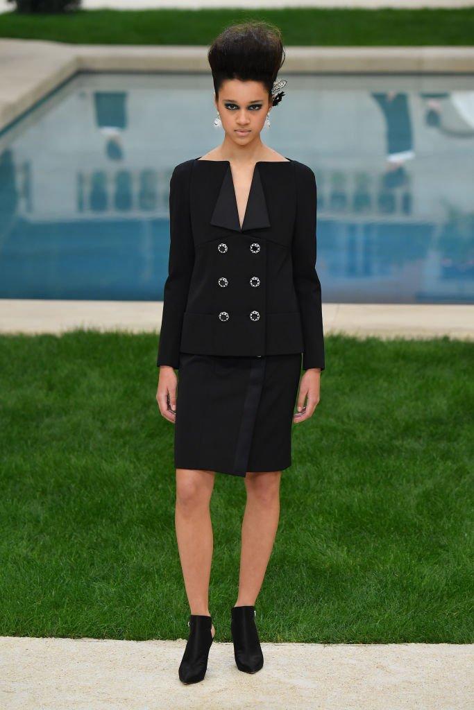 Последняя коллекция Карла Лагерфельда для Chanel (фото)