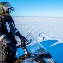 В Лапландии пограничников напугал появившийся посреди озера остров-призрак