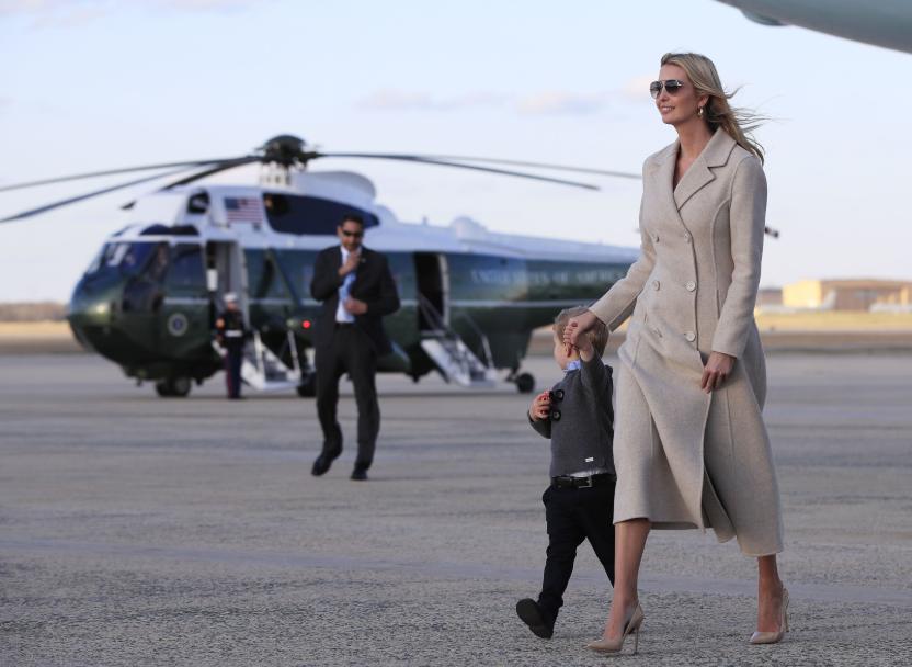 Иванка Трамп вышла в свет в шикарном образе