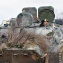 Артиллеристы «уничтожили противника»: эффектные фото боевых учений